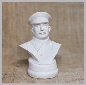 797116a9dc794 Купить Бюст Сталин (белый) оптом - по цене от 105 руб.| Интернет ...