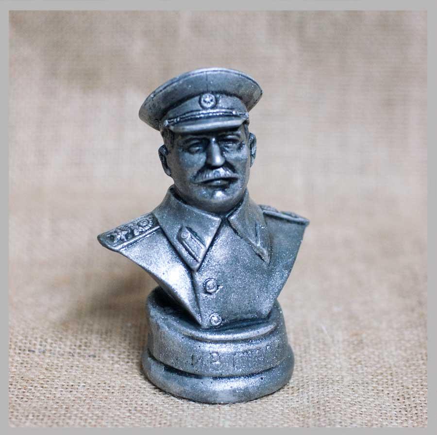 c1d2987397d17 Купить Бюст Сталин (под серебро) оптом - по цене от 105 руб ...