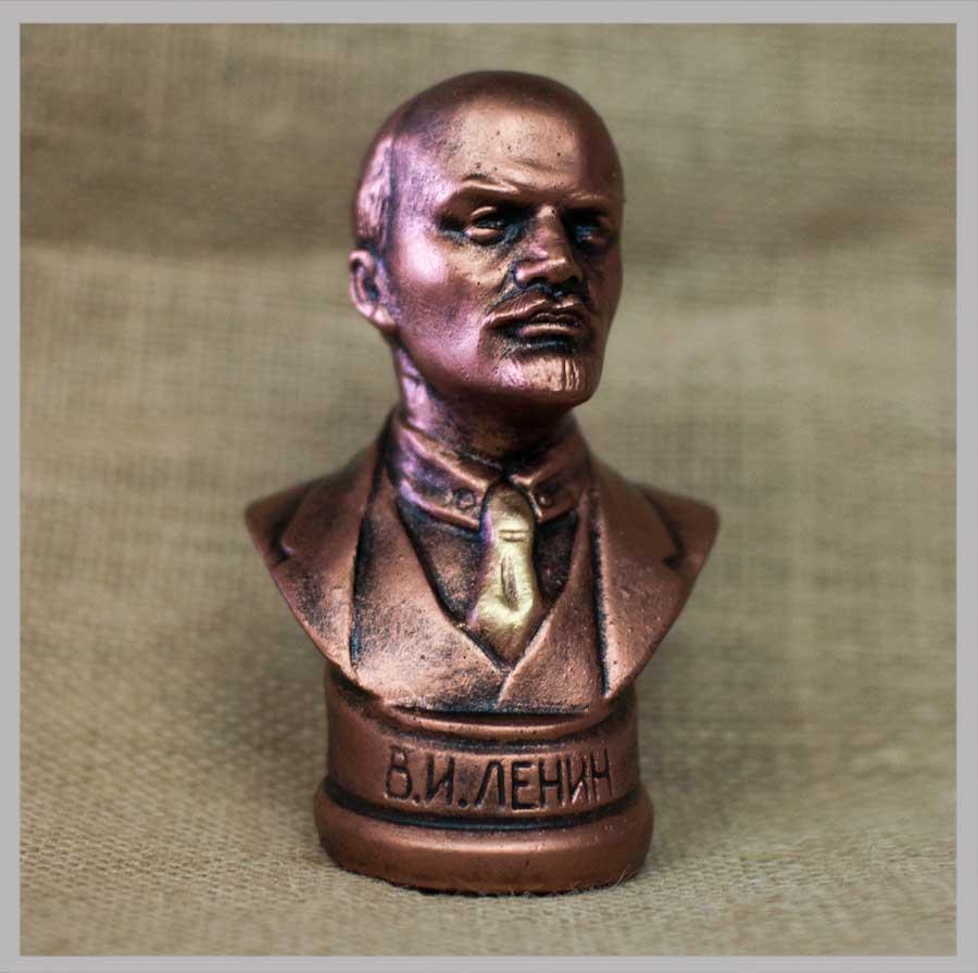 1c4fce9f69413 Купить Бюст В.И.Ленин (под бронзу) оптом - по цене от 105 руб ...