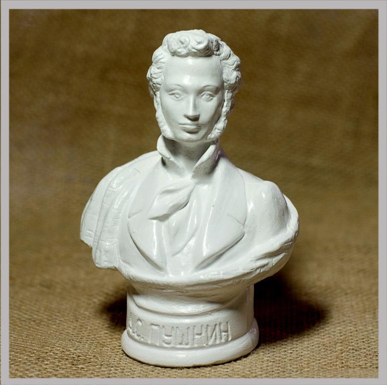 b9ab72ef7e077 Купить Бюст А.С.Пушкин (белый) оптом - по цене от 105 руб.| Интернет ...